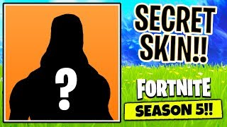 How to Unlock SECRET SEASON 5 SKIN in Fortnite... | Chaos