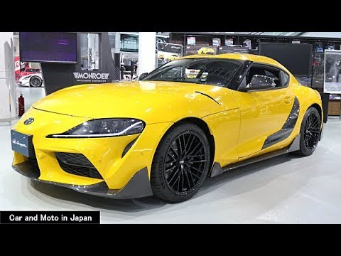 """Toyota GR Supra SZ-R """"TRD Customized Parts"""" GR Parts : Yellow"""