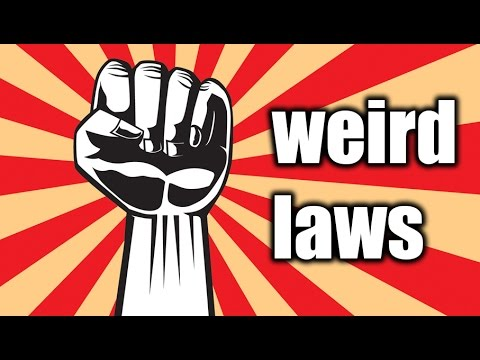 Top 5 Weirdest Laws in CHINA