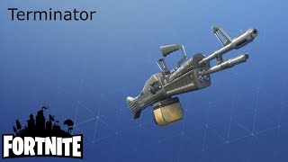 Delivering Bullets / Terminator Fortnite: Saving the #329 World