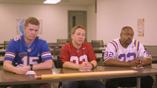 SEC Shorts - Alabama, Florida, and LSU are forced to attend after-school defensive tutoring