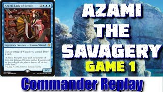 Azami, The Savagery vs F&S, Jodah, Anafenza