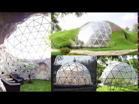 Glass Geodesic Domes - The Sustainable homes of the future