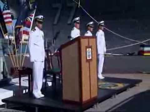 COMDESRON 31 Change of Command Ceremony