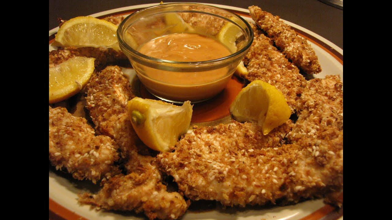 easy chicken breast recipe baked chicken fingers youtube