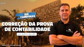 [MARATONA ISS CAMPINAS] Correção da Prova de Contabilidade com Silvio Sande