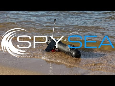 Marine Surveillance Drone - SpySea - Thales Arduino 2018