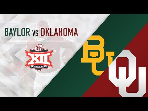 OU Highlights vs Baylor (Big 12 Championship)