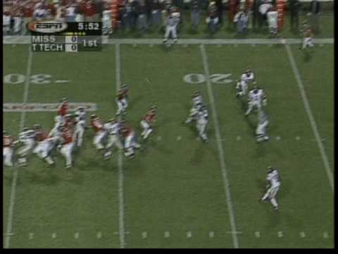 1998 - Ole Miss vs Texas Tech --Independence Bowl