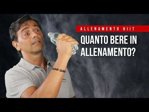 HIIT Video 08 | Quanto bere in allenamento?