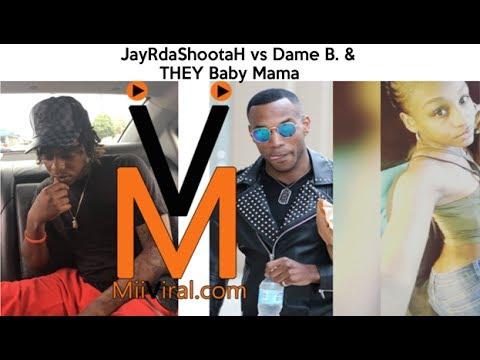 Dame B. & Baby Mama Tried to Stick JayRdaShootah With Their Baby