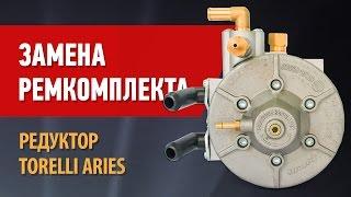 Замена ремкомплекта. Редуктор Aries 4-го поколения.