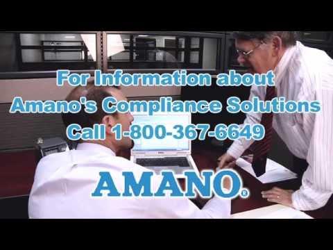 Amano TS3000i  - Automatic TimeSync Web Clock