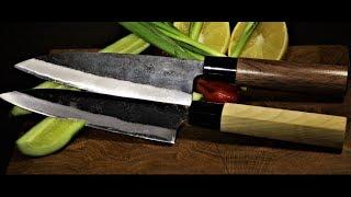 О Кухонных Ножах.Что и Как? Собираем Японский Кухонный Нож.