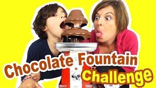 CHALLENGE CHOCOLATE FOUNTAIN - 10 ingrédients mystères