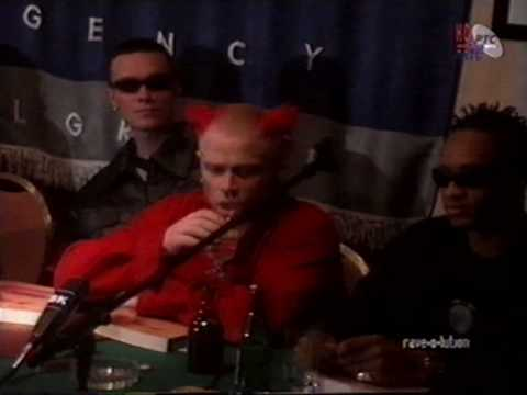 The Prodigy 1995 Belgrade Press Conference Before The Concert