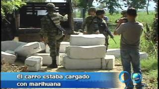Carro bomba con marihuana en Corinto, Cauca. Junio 21 de 2011