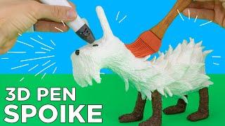 Cheap 3D Pen + Polysmooth Filament // Smoothing my 3D Pen Pet Piñama