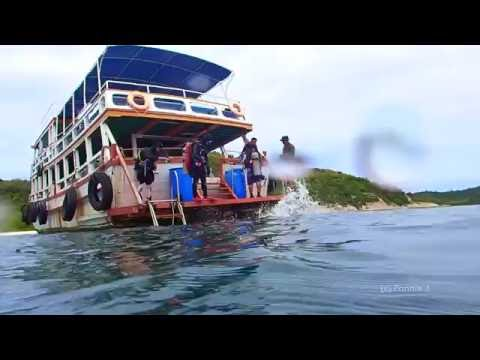 Olympus TG4 - A day dive in Pattaya (HD)