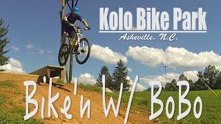 Kolo Bike Park Asheville, NC (Vlog#6) MTB