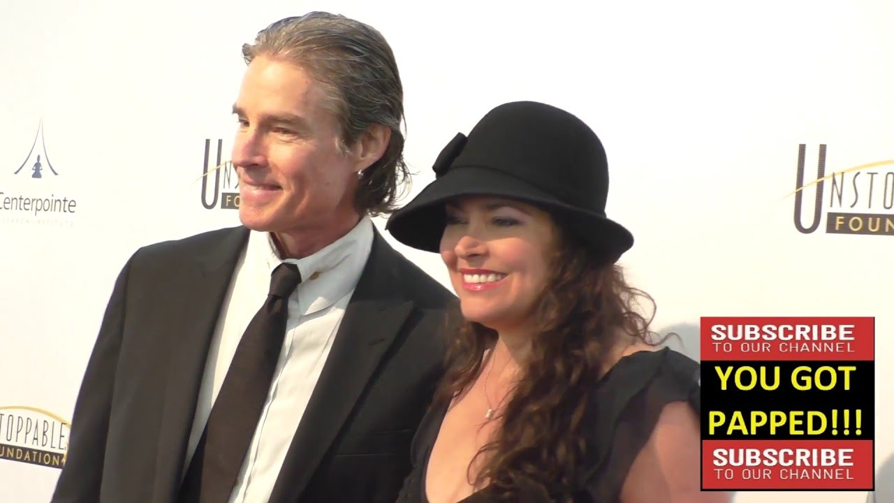 Ronn Moss and Devin DeVasquez at the 7th Annual Unstoppable Foundation Gala at the JW Marriott in Lo