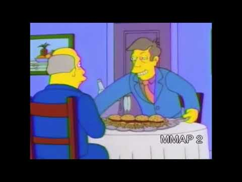 Steamed Hams but Every I is Replaced with I hope youre prepared for an unforgettable luncheon