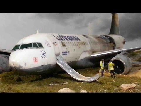 Airplane Crash Diorama Part 1/2