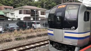 東急2020系 甲種輸送 逗子駅
