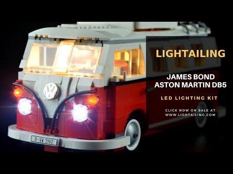 LEGO Creator Volkswagen T1 Camper Van #10220 Light Show-LED Light Kit -Lightailing