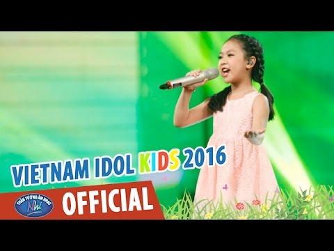 VIETNAM IDOL KIDS 2016 - GALA 2 - LK ĐI HỌC - MẶT TRỜI MỌC TRÊN PLÂY - DIỆP NHI