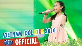 vietnam idol kids 2016 - gala 2 - lk di hoc - mat troi moc tren play - diep nhi