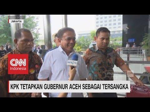 KPK Tetapkan Gubernur Aceh Sebagai Tersangka