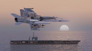 F/A-18E Super Hornet SEAD Mission | Arma 3