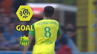 Goal Adrien THOMASSON (13') / RC Strasbourg Alsace - FC Nantes (1-2) / 2017-18