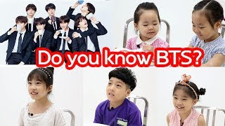 Korean Children Talk about BTS