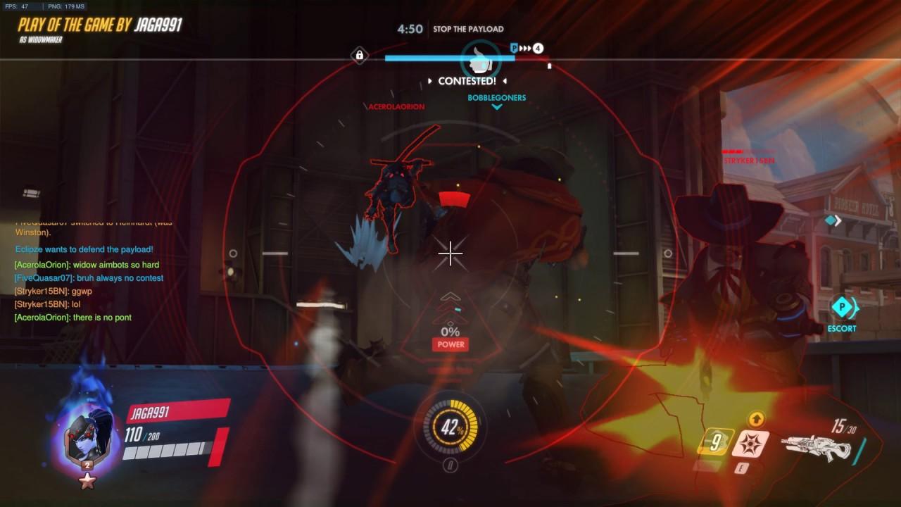 overwatch how to change crosshair