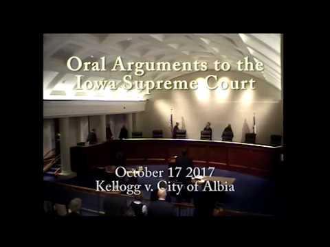 15-2143 Kellogg v. City of Albia, October 17, 2017