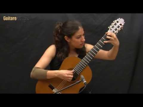 MasterClass Gaëlle Solal Silvius Leopold Weiss, Ciaccona suite X (1)