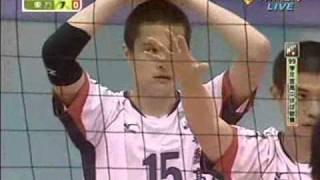 99學年度高中排球聯賽男子組冠軍戰-華僑-東方-set 2-part1.wmv