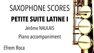 PETITE SUITE LATINE I – Jérôme NAULAIS – Piano accompaniment