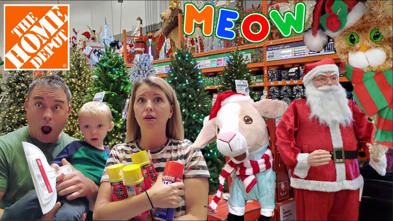 Christmas Decorations 2019 Home Depot Christmas Trees Indoor Outdoor Diy Christmas Decor Ideas