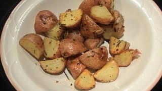 Fresh ~  Chive & Rosemary ~  Roasted New Potatoes