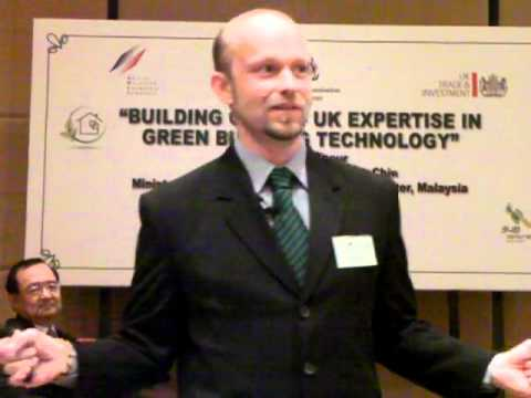 """Green Buildings & homes in Malaysia"""" - insight from Matthias Gelber"""