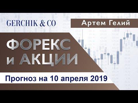 ≡ Технический анализ валют и акций от Артёма Гелий 10 апреля 2019.