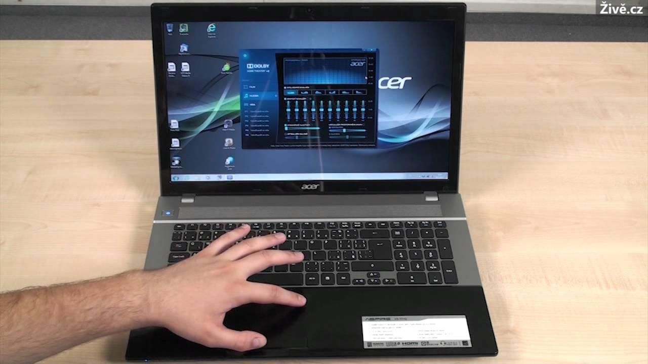 Acer Aspire V3-771G - YouTube