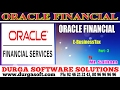 Oracle Financial  online training  E-Business Tax Part-3 by SaiRam