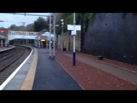 Port Glasgow train station Glasgow UK