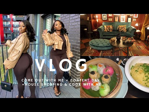 A VLOG | OUT WITH FRIENDS + CONTENT DAY + HOUSE SHOPPING + MORE | BEAUTYBYBEMI