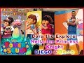 Nick Jr Team Dora the Explorer, Boots and Diego, and Nella the Princess Knight Power Squad