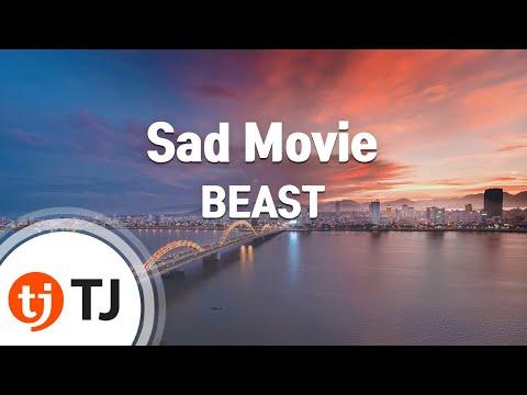 Sad Movie(Korean Ver.)_BEAST 비스트_TJ노래방 (Karaoke/lyrics/romanization/KOREAN)